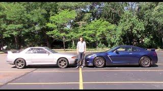 1990 Nissan Skyline GT-R vs. 2015 Nissan GT-R: A Comparison