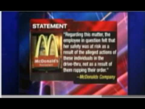 Teens Arrested For Rapping Order In McDonald s Drive-Thru