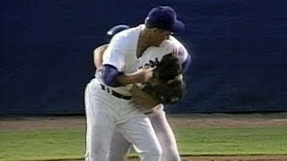 Robin Ventura, Nolan Ryan duke it out