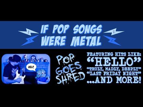 If pop artists were in metal bands