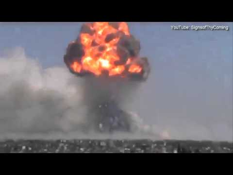 Syria : Massive Explosion at a Weapons Depot rattles Syrian City of Homs (Aug 01, 2013)
