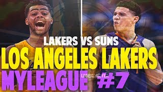 DLO TAKESOVER IN CRAZY GAME VS SUNS!! NBA 2K17 LA LAKERS MYGM #7