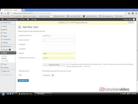 Cum Stergem Userul Admin Din Wordpress