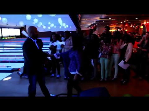 Best Flash Mob Marriage Proposal Bowling Alley