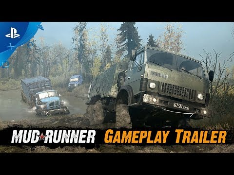 Spintires: MudRunner | Gameplay Trailer | PS4