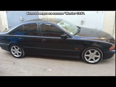 замена молдинга лобового стекла BMW E39 /  BMW E39 Windshield Molding Replacement