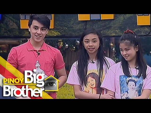 PBB 7 Day 127: Edward, Kisses at Maymay, nagbigay ng regalo sa mga housemates