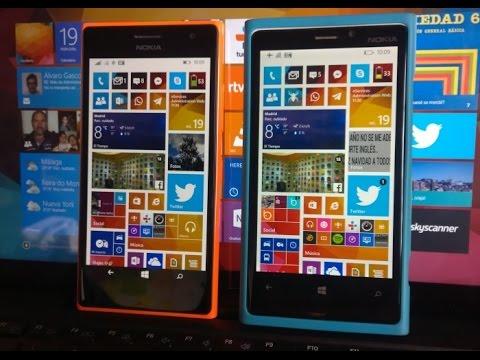 Comparativa rendimiento Nokia Lumia 737 con Lumia 920