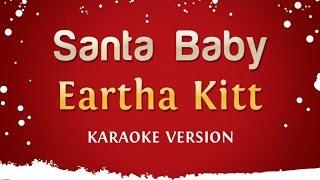 Eartha Kitt - Santa Baby (Karaoke Version)