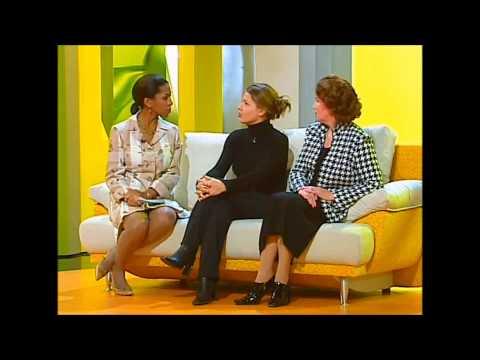 Полина Осетинская в передаче Принцип Домино, 2001 год