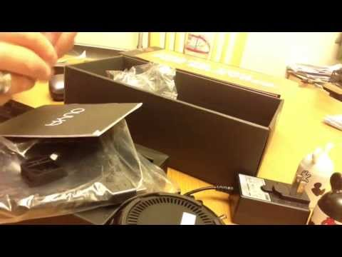 Exclusive OUYA video Game Console Unboxing Video (Unwrapping)