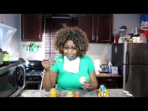 GloZell's Baby Food Challenge!