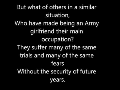 A Poem of An Army Wife