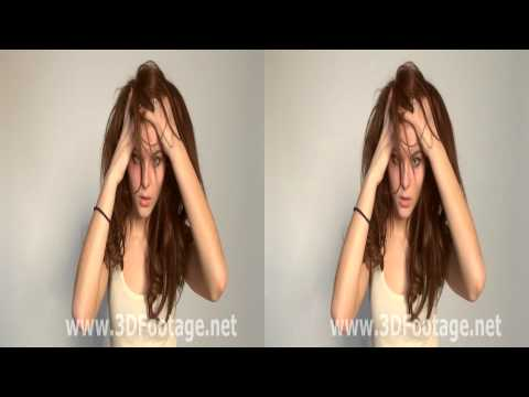 YT3D Video Young Russian Model Lilie - Moscow Model Casting