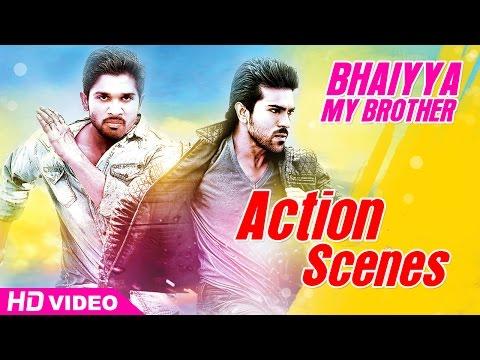 Bhaiyya My Brother Malayalam Movie HD | Action Scenes | Allu Arjun | Ram Charan