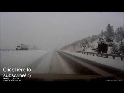 Winter storm footage - December 28, 2014