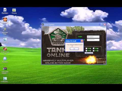 Tanki Online Kristall Hack program