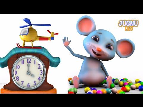 Hickory Dickory dock  - Jugnu Kids Rhymes - Nursery Rhymes for Kids