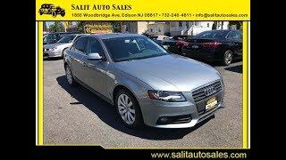 Salit Auto Sales  Edison NJ  2011 Audi A4 Premium Plus