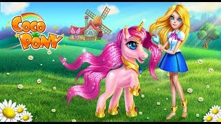 Fun Pet Care Game - Coco Pony Girls Horse Care - Play Fun Pony Style & Dress Up Games For Girls