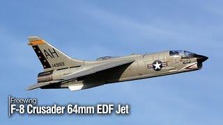 Freewing F-8 Crusader 64 mm EDF Jet - Park Pilot magazine