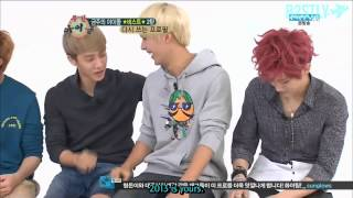 [B2STLYSUBS] 120905 Weekly Idol EP 2 [1/3]
