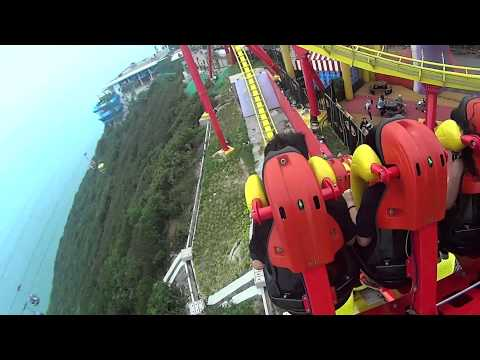 Hong Kong - Ocean Park Big Thrill Roller Coaster