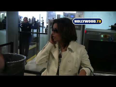 EXCLUSIVE: Eva Longoria Goes To LAX Video