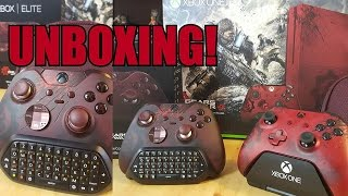 Unboxing -GEARS OF WAR 4-Control ELITE -de XBOX ONE- En Español