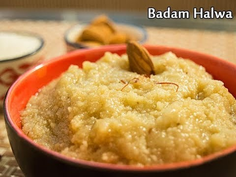 Badam Halwa | Halwa in Telugu | Indian Sweets Recipe | Kundana's Kitchen