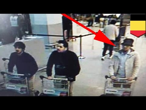 Brussels terror attack: police hunt for third ISIS suspect involved in airport bombings - TomoNews
