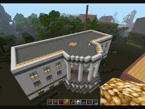 Minecraft bau vom wei en haus youtube for Modernes haus 2 etagen