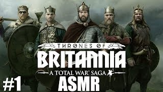 ASMR | Thrones of Britannia Relaxing Let's Play - Episode 1