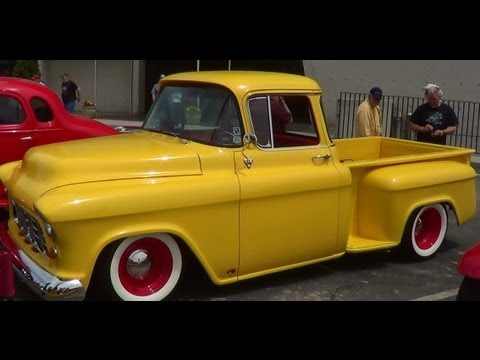 1955 Chevrolet Street Rod Pick Up Music Videos