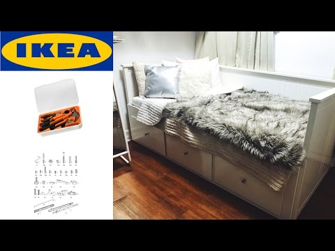 ikea hemnes daybed assembly instructions how to make do everything. Black Bedroom Furniture Sets. Home Design Ideas