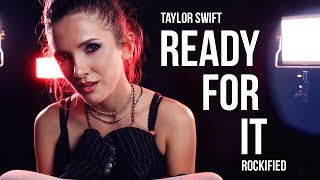 Taylor Swift - ...Ready For It? - Rock cover by Halocene