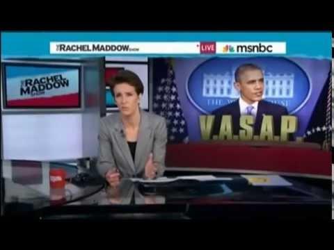 Rachel Maddow:  Don't Blame Eric Shinseki,  Blame Congress!
