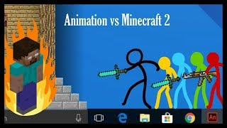 Animation vs. Minecraft 2 (Fan Made)