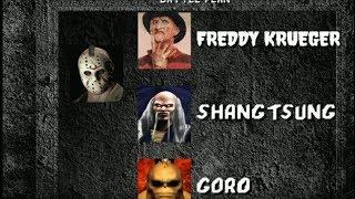 Mortal Kombat 1 (HD Remake) Jason Full Playthrough (Freddy Krueger Final Boss)