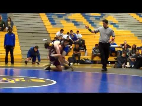 Andrew Demos - Warren Township HIgh School Varsity Wrestling Highlights