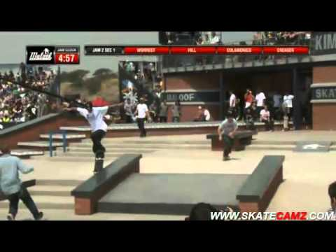 Maloof Money Cup 2011- South Africa - Pro Qualifiers: JAM 1&2 - SECTION 1