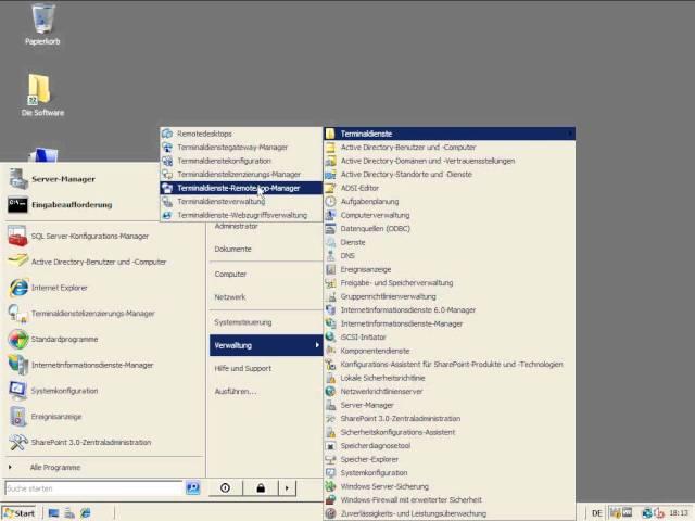TUT Win Server 2008 | Serverzertifikat erstellen