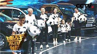 """《挑战不可能 第三季》 20180107 中德""""声纳人""""终极PK 仅凭声波细微变化辨别熊猫材质   CCTV挑战不可能官方频道"""