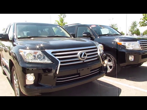 2013 Toyota Landcruiser vs 2013 Lexus LX 570 vocal video with differences