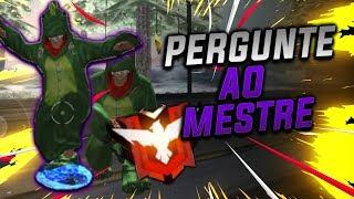 FREEFIRE PERGUNTE AO MESTRE FT :- Chris