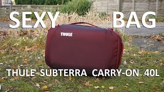 Thule Subterra Carry-On 40L Bag Review