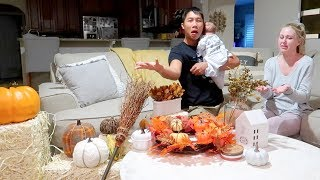 KKandbabyJ Fall Decor Haul & Newborn Cuteness