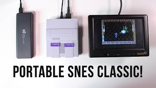 How to Make the SNES Classic Portable!
