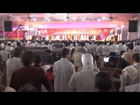Catholicate Centenary Meeting At Cochin. Oath By Marthoman Christians. video