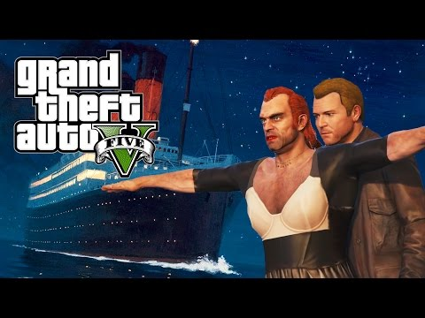 "GTA 5 ""THE TITANIC"" TRAILER REMAKE! (AMAZING GTA 5 SHORTMOVIE)"